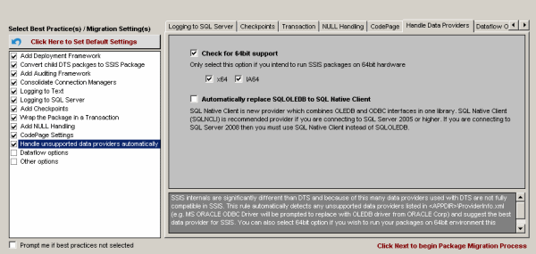 DTS xChange Help - DTS to SSIS Packages Convert, ActiveX